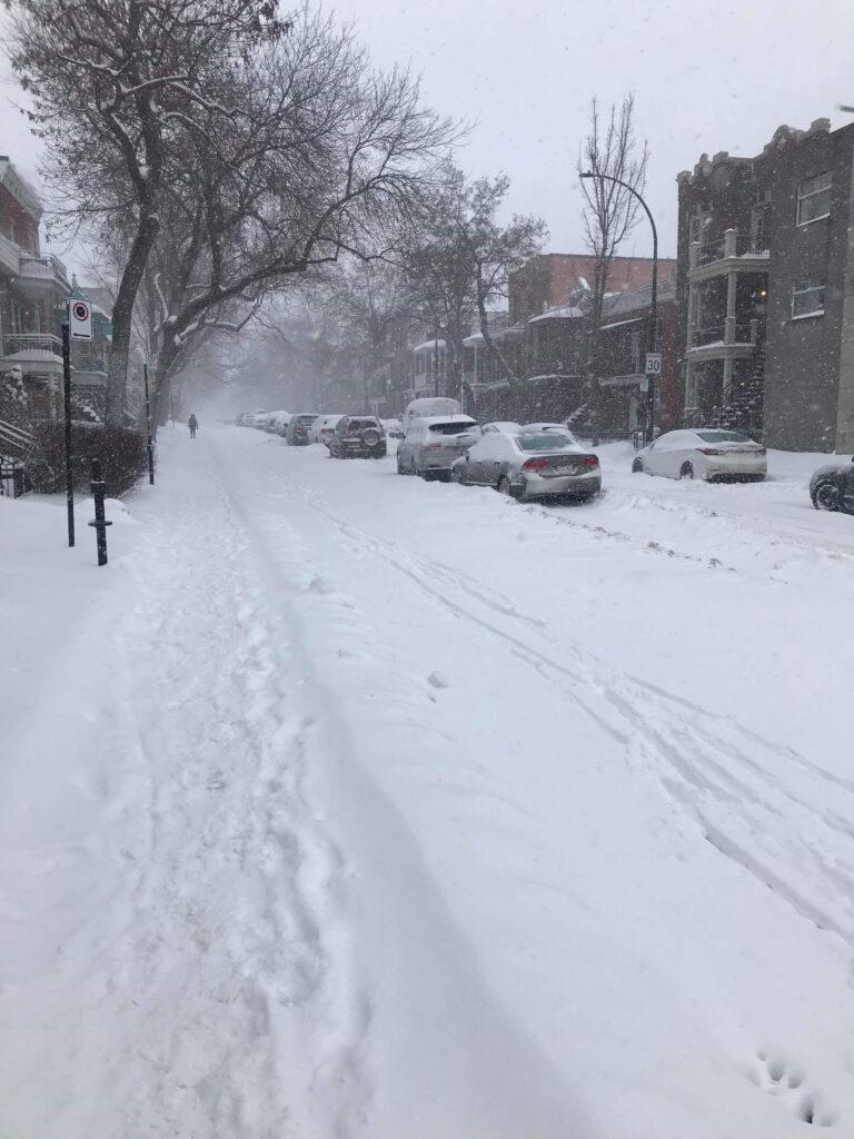 encore de la neige